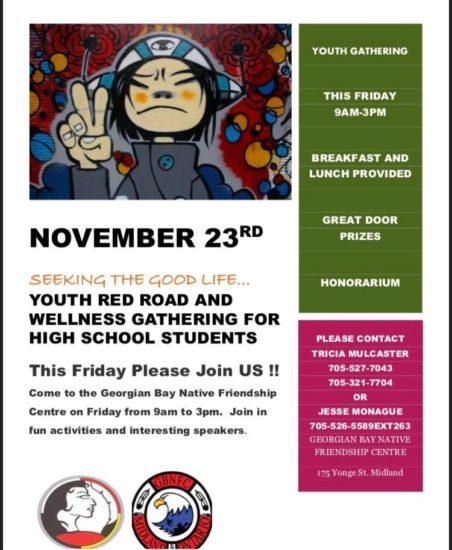 Red Road Wellness Day Reminder